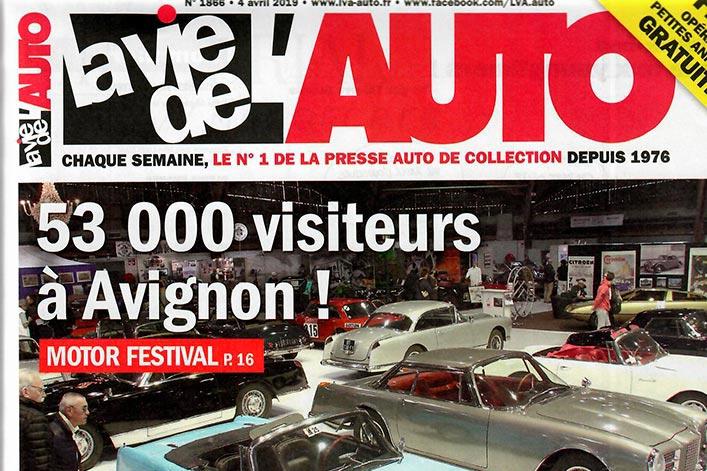Unser Firmenjubiläum in der La Vie de l'Auto