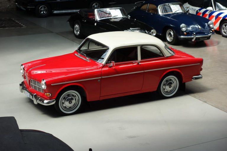 Restaurierung eines Volvo P 121 B18 von 1965