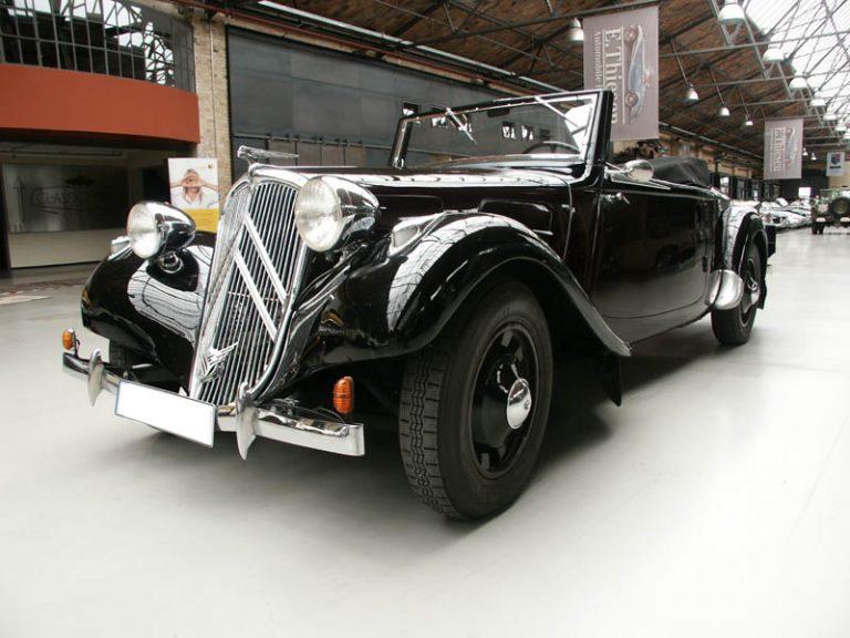 Restaurierung eines Citroën 11 BL Décapotable von 1939
