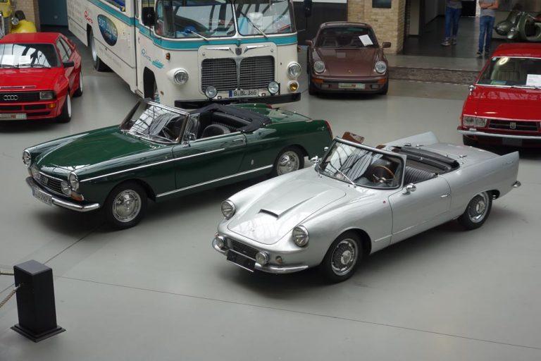 D.B. Panhard Le Mans Luxe und Peugeot 404 Superluxe Cabriolet