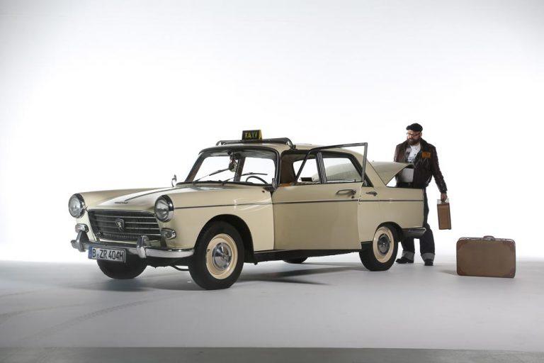 Peugeot 404 Taxi als Video-Star