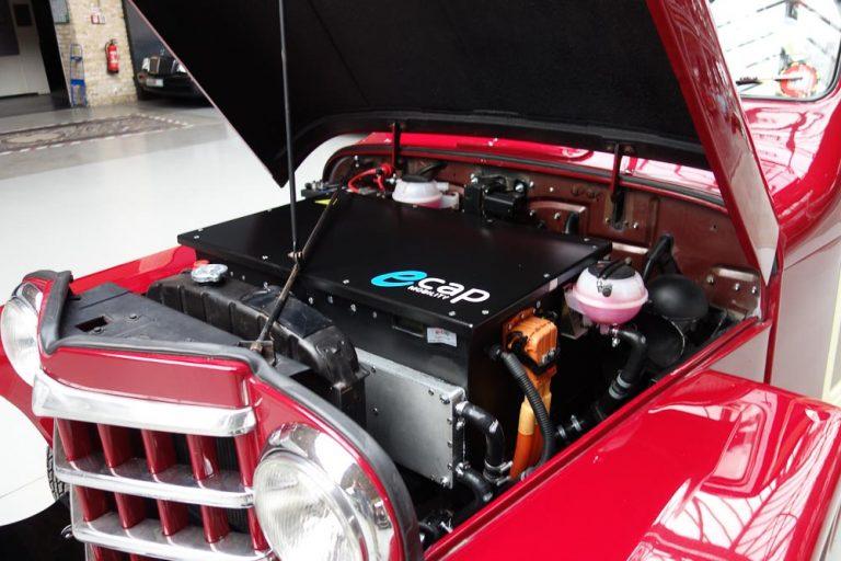 Automobile Klassiker mit E-Antrieb im rbb