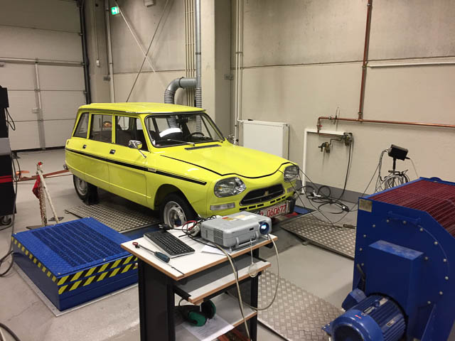 Leistungsmessung Citroën Ami Super 1220 Break